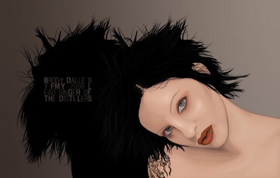 Brody Dalle par FMY